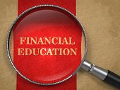 stock photo of macroeconomics  - Financial Education concept - JPG