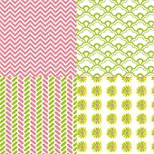 4-patterns-chevron-daisy-flower-spring