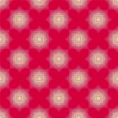 White shape pattern on red seamless background