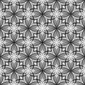 Design Seamless Monochrome Diagonal Decorative Flower Pattern. Abstract Speckled Textured Diagonal B