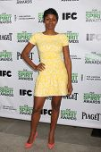 LOS ANGELES - JAN 11: Emayatzy Corinealdi at the 2014 Film Independent Spirit Awards Nominee Brunch
