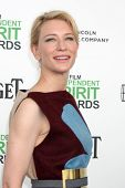 LOS ANGELES - MAR 1:  Cate Blanchett at the Film Independent Spirit Awards at Tent on the Beach on M