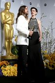 LOS ANGELES - MAR 2:  Jared Leto, Anne Hathaway at the 86th Academy Awards at Dolby Theater, Hollywo