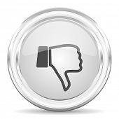 foto of dislike  - dislike internet icon - JPG