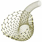 foto of nanotube  - Abstract nanotube - JPG