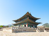 picture of seoul south korea  - Old Gyeongbokgung palace in Seoul - JPG
