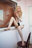 foto of hot pants  - portrait of a young - JPG