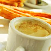 picture of churros  - cafe y porras - JPG