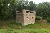 picture of ferrara  - Medieval castle of Stellata  - JPG