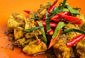 image of curry chicken  - Close  - JPG