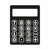 picture of calculator  - The calculator icon - JPG