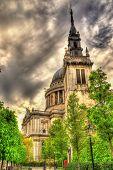 stock photo of church-of-england  - St Augustine Watling Street a church in London  - JPG