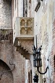 picture of juliet  - The Famous Balcony of Juliet Capulet Home in Verona Italy - JPG