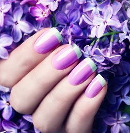picture of  art  - Manicured nails Nail Polish art design - JPG