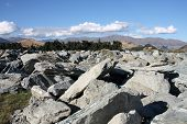 pic of gneiss  - New Zealand  - JPG
