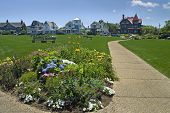 picture of martha  - Ocean park near Oak Bluffs Beach on Martha - JPG