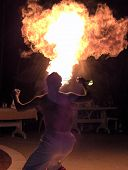 picture of breather  - fire breather - JPG