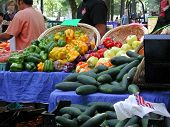 image of farmers market vegetables  - Vegetables at farmers market fresh vegetables farmers market - JPG
