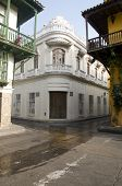 picture of bolivar  - historic architecture entry famous department store Bolivar Park Cartagena Colombia - JPG