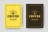 Coffee Quote Vintage Typographic Style Inspirational Phrase Vector Design. poster