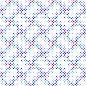 Multicolor Dot Pattern Background Design - Multicolored Abstract Vector Illustration poster