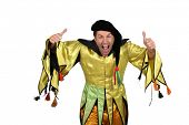 stock photo of jester  - Court jester - JPG