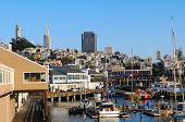 pic of u-boat  - View of San Francisco from the pier 39 San Francisco California U - JPG