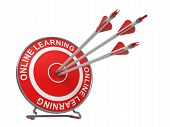 Online Learning.  Education Concept.