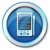 E-book reader icon