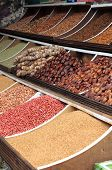 Dried fruits and legumes
