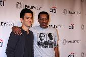 LOS ANGELES - MAR 19:  John Cho, Orlando Jones at the PaleyFEST -