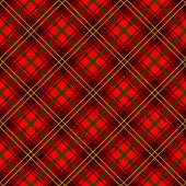stock photo of tartan plaid  - A traditional red plaid pattern - JPG