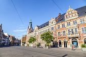 pic of old post office  - ERFURT GERMANY  - JPG