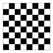 image of draught-board  - black and white checks of draughts board - JPG