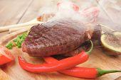 foto of cayenne pepper  - meat entree  - JPG