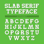 foto of slab  - Slab serif typeface - JPG