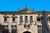 picture of pilaster  - Domus Nova or Palazzo dei Giudici  - JPG
