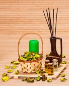 Постер, плакат: Aromatherapy Accessories