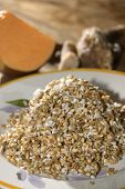 picture of legume  - soup of cereals legumes and others vegetavles  - JPG