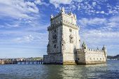 Постер, плакат: Belem Tower In Lisbon