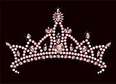 picture of tiara  - Illustration of Beautiful shining true princess crown - JPG