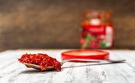 pic of ero  - Minced hungarian very hot red pepper paste