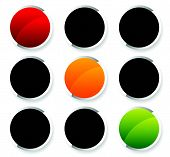 pic of traffic rules  - Traffic lights Traffic lamps isolated on white - JPG