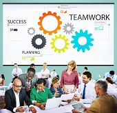 picture of collaboration  - Teamwork Team Collaboration Connection Togetherness Unity Concept - JPG