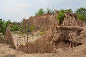 foto of na  - Soil Textures Of Sao Din Na Noi In Sri Nan National Park - JPG