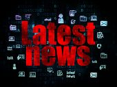 picture of pixel  - News concept - JPG