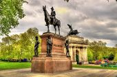 Постер, плакат: Wellington Monument On Hyde Park Corner In London