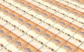 picture of ringgit  - Malaysian ringgit stacks background - JPG