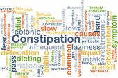 picture of laxatives  - Background concept wordcloud illustration of constipation - JPG
