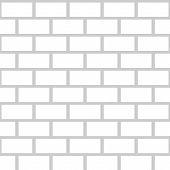 picture of stonewalled  - Black brick wall seamless pattern - JPG